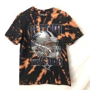 Custom Dallas Cowboys tiedye T-shirt